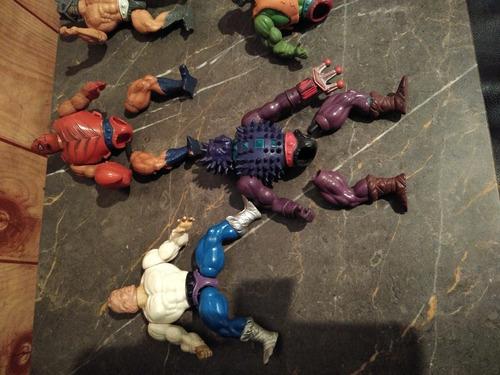 muñecos he man coleccion