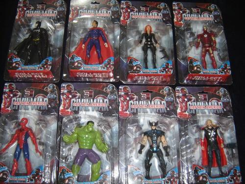 muñecos hulk los vengadores