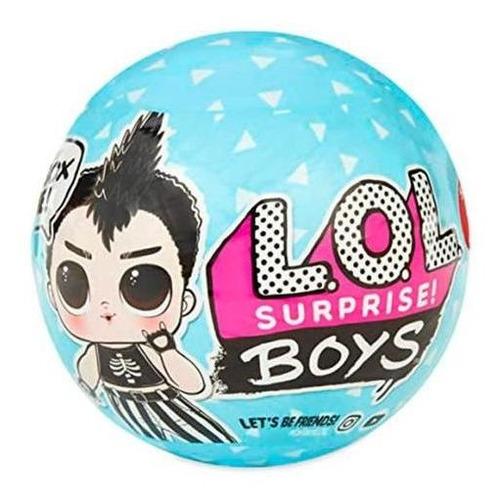muñecos lol surprise boys pelota bola c/accesorios - el rey
