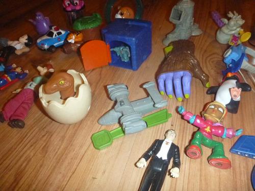 muñecos mc donalds,burger king,etc desde 19 soles