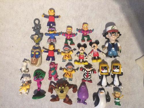 muñecos mcdonalds burguer king coca cola etc!! por unidad!!