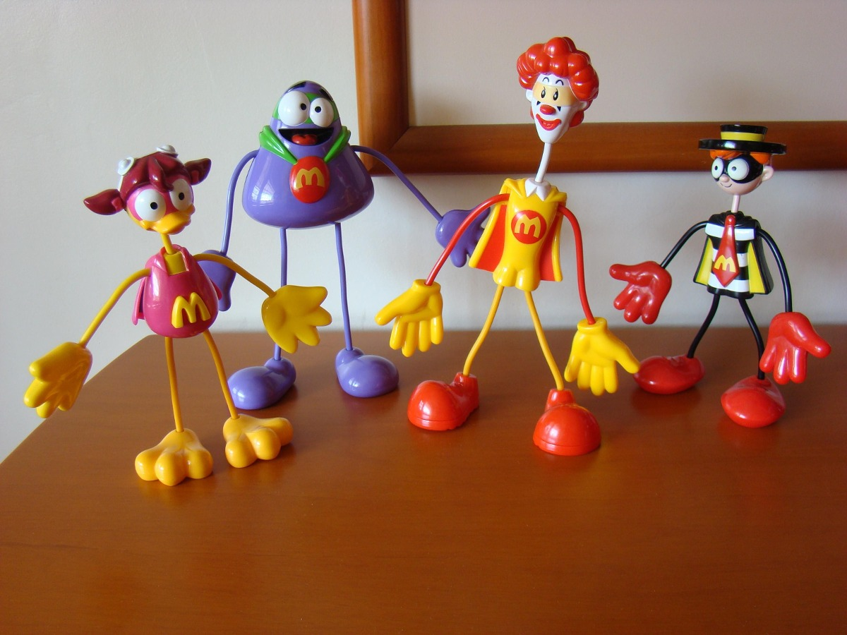 Muñecos, Mcdonald's, Mcdonalds, Colección, Juguete. - Bs ...