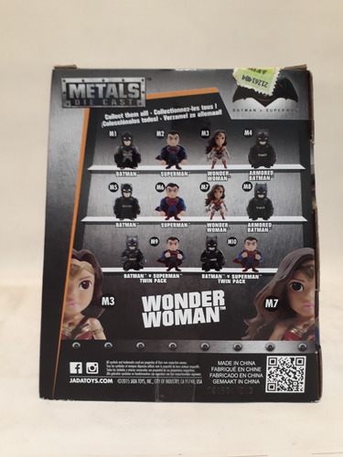 muñecos metals die cast-wonder woman-10 cm