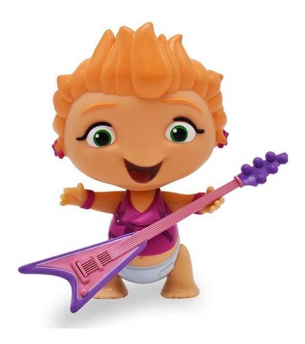 muñecos mini beat power rockers con instrumentos mundomanias