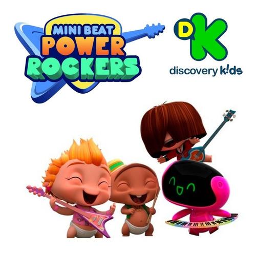 muñecos mini beat power rockers con sonidos mundo manias
