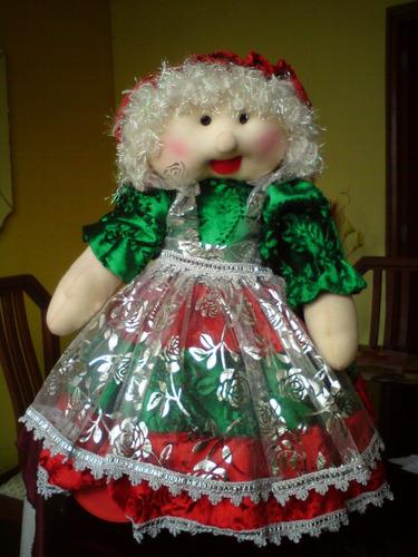 muñecos navideños varios modelos 2017
