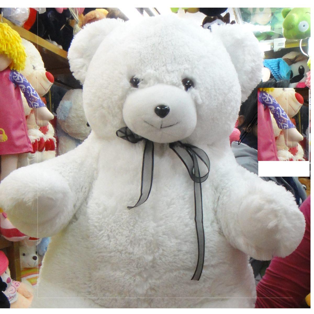 Muñecos Osos Polares De Peluches Grande 90cm - $ 100.000 en Mercado ...