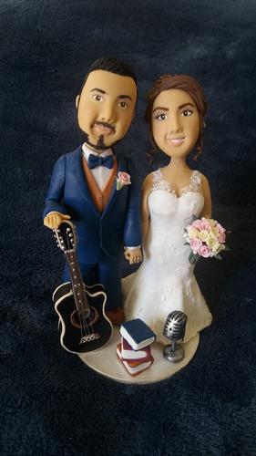 muñecos para queques: novios para boda, cumpleaños y más