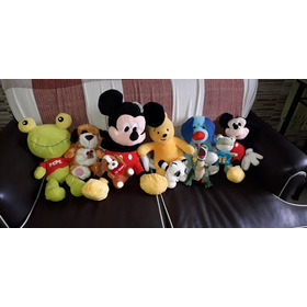 Muñecos Peluches Mickey Sapo Pepe Timoteo