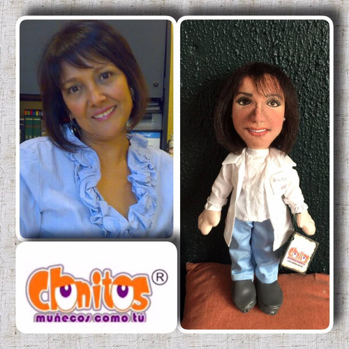 muñecos personalizados de tela con tu cara 100% hecho a mano