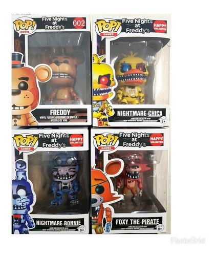 muñecos pop five night freddy nightmare 8cm precio x c/u