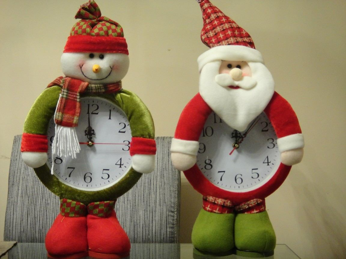 Mu ecos reloj navide o 2 modelos a elegir feliz navidad s 31 98 en mercado libre - Relojes de decoracion ...