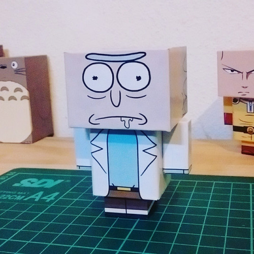 muñecos rick and morty coleccionables