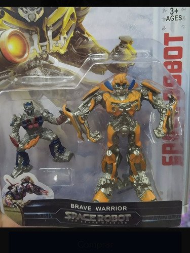 muñecos robots transformers optimus prime bumblebee juguetes