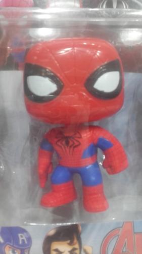 muñecos  símil funko pop avengers x 5 unidades