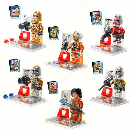 muñecos star wars compatible lego juguete coleccion