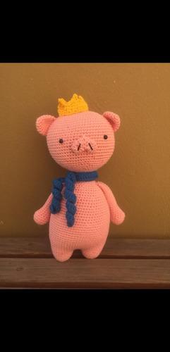 muñecos tejidos de crochet personalizados