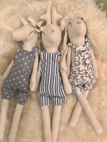muñecos tela para ellas
