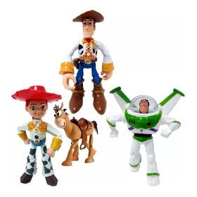 Muñecos Toy Story 3 - Set X 4 Personajes En Blister
