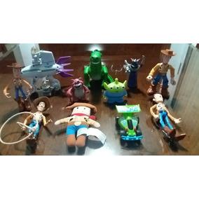 ea7dad606707f Toy Story Lote De Varias Figuras Woody Zurg Lotso Rex Alien