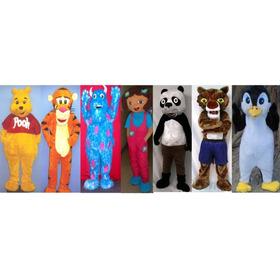 Muñecote, Disfraz, Panda, Winie Pooh, Monstern Inc, Pinguino