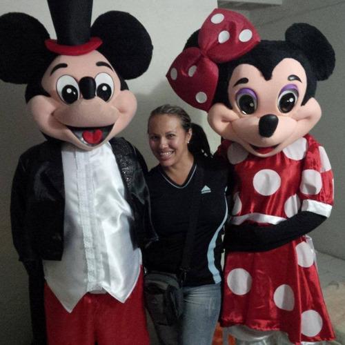 muñecotes mickey y minnie 04129613609 y mas!!!!!!!.....