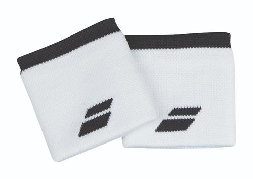 muñequera babolat logo wristband blanco