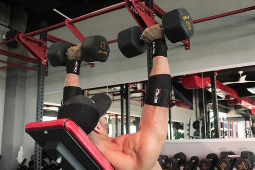 muñequera elastica par, crossfit, gym, wrist wraps, felter!!