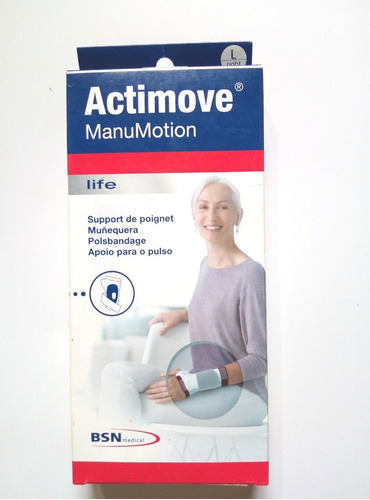 muñequera estabilizadora actimove manumotion