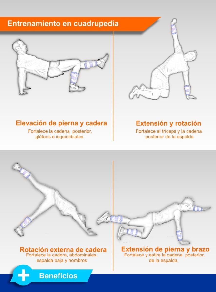 Muñequera O Tobillera   Pesas Anatómicas Fortia- 7kg El Par ...