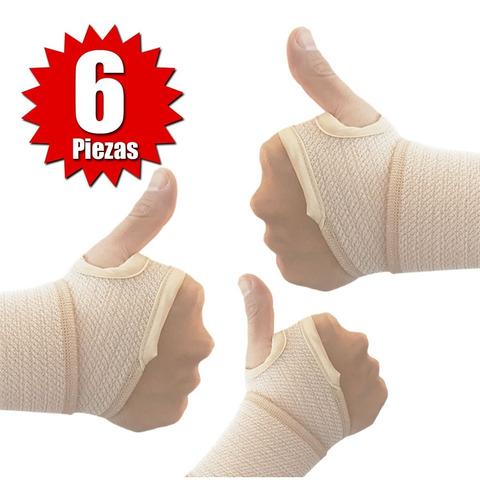 muñequera pulgar (6 piezas)