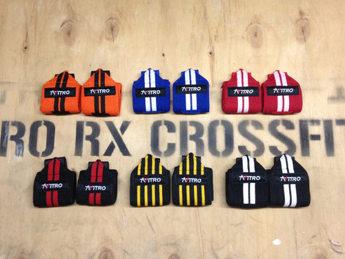 muñequeras elasticas marca nitro crossfit, gimnasio