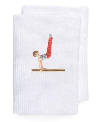 muñequeras para gimnasia artística -par -2 unidades por pack