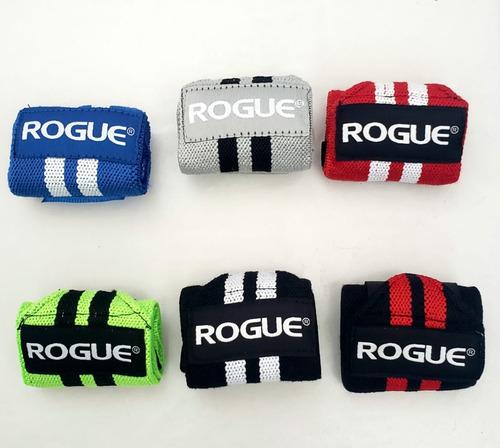 Pacer amplio apetito  Muñequeras Wrist Wraps Rogue Fitness Crossfit Reebok S(12in ...