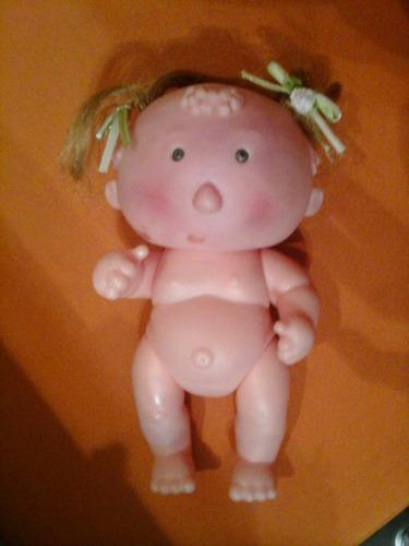 muñequita bebe e goma canta cancion con pelo colitas