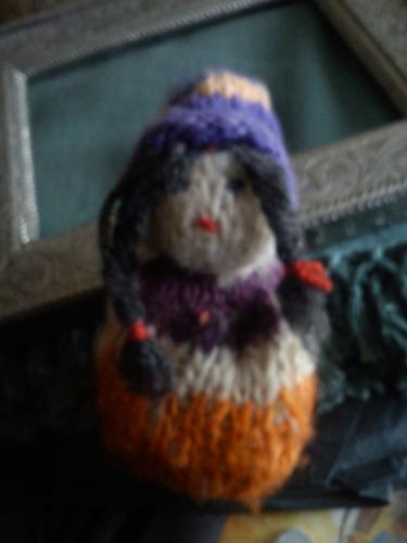 muñequita lana chilota