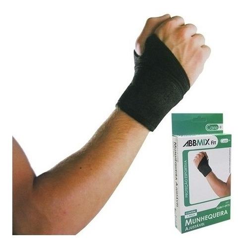 munhequeira ajustavel faixa pulso neoprene crossfit lesao