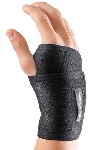 munhequeira ajustável neoprene preto ortopédico fitness