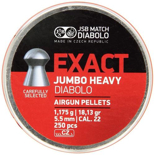 municion arisoft diabolo jumbo .22 cal 500 unidad buho store