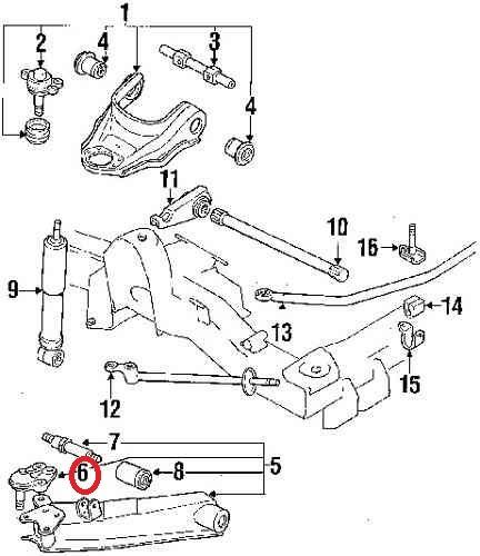 múñón inferior caribe 442 1983 a 1988 motor 1.9 o 2.3