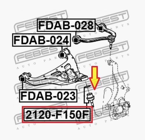 munon meseta inferior f150 f250 f350 fx4 ford 2004 - 2014