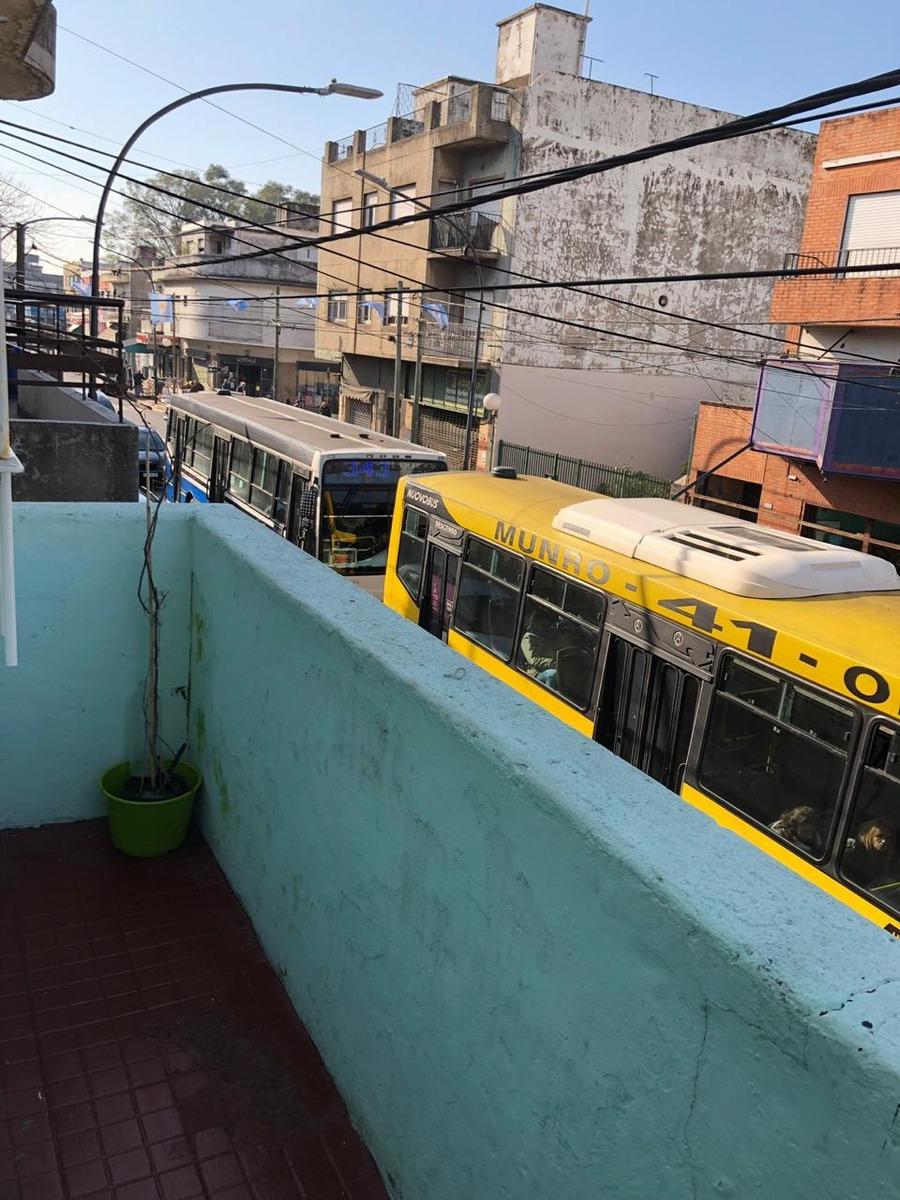 munro venta ph 2 amb frente prox estacion ffcc patio balcon