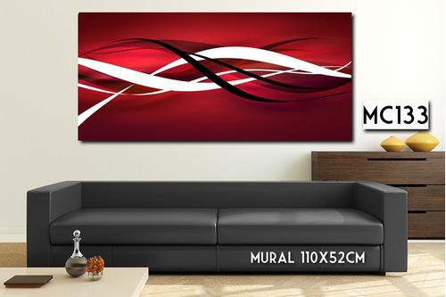 mural 110x52 cuadro decorativo paisaje moderno personalizado
