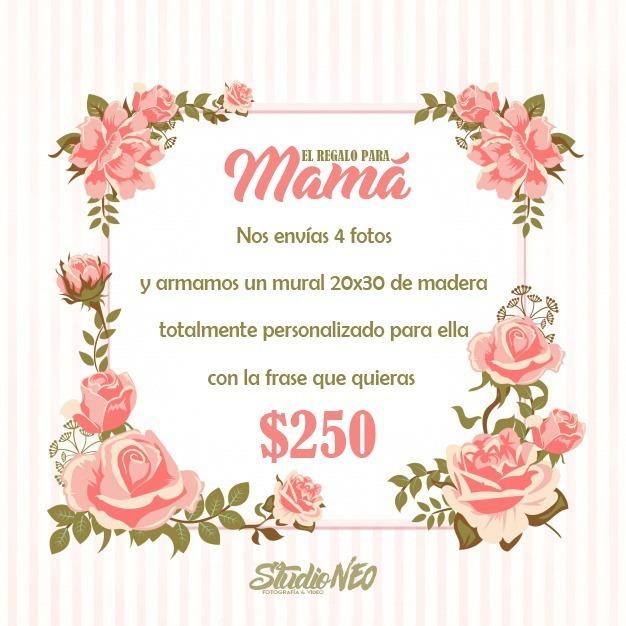 Mural 20x30 Dia De La Madre 250 00 En Mercado Libre