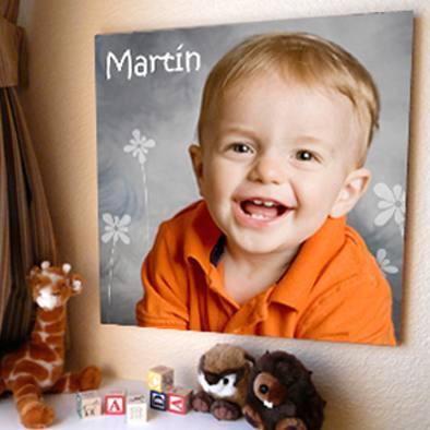 mural 50x50 cm  personalizados tus fotos cumple bautismo 15