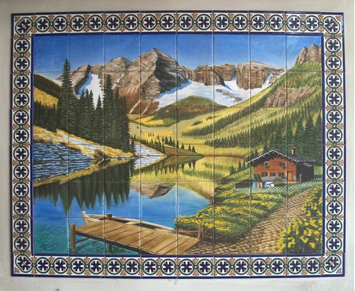 mural cerámico 1,05 x 0,75m (msp35)