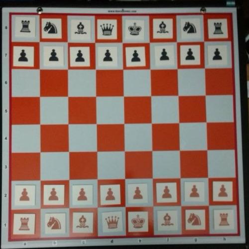 mural chico de ajedrez 48 x 48