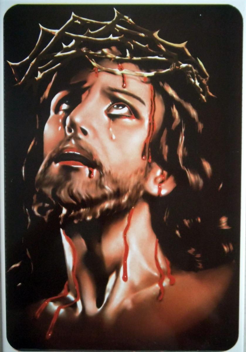 Mural De Azulejo De Jesuscristo Con La Corona De Espinas 54900