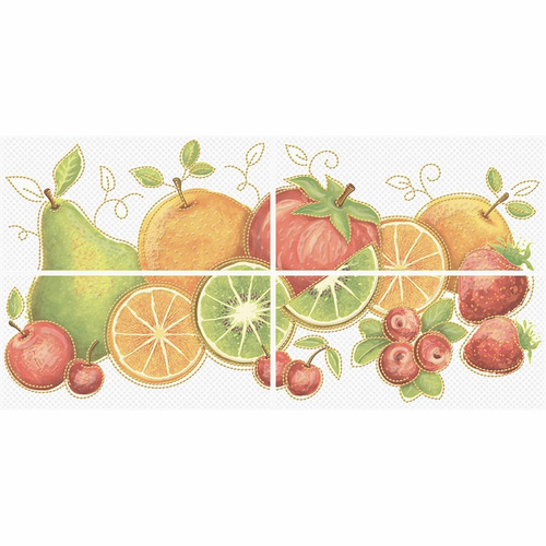 mural sesamo cocina multicolor 30 x 60 caja 4 unidades coron