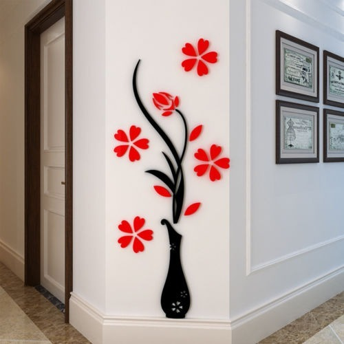 Murales En Mdf Para Pared Floral Decoracion Hogar Oficina Bs 180 - Decoracin-de-pared